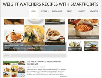 ww-recipes.net screenshot