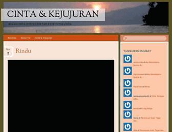 kejujurancinta.wordpress.com screenshot