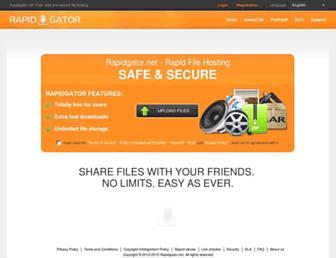 Thumbshot of Rapidgator.net
