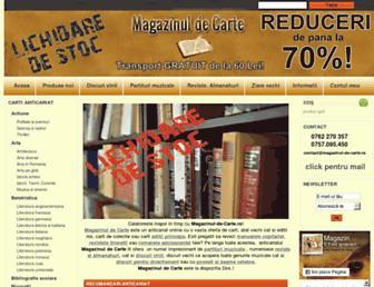 magazinul-de-carte.ro screenshot