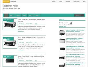 squaddriversprinter.blogspot.com screenshot