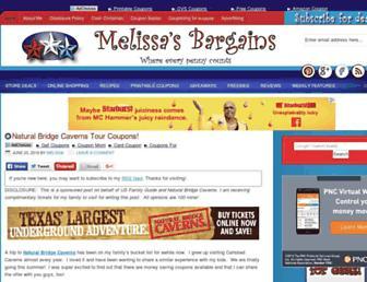 Thumbshot of Melissasbargains.com
