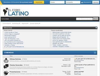 elforolatino.com screenshot