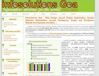 infosolutionsgoa.com screenshot
