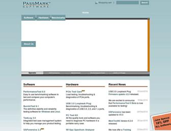 Thumbshot of Passmark.com