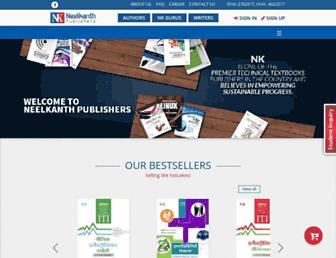 neelkanthpublishers.com screenshot