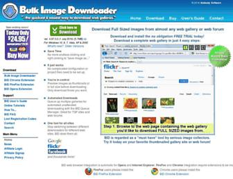 bulkimagedownloader.com screenshot