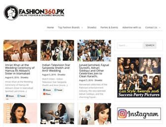 Thumbshot of Fashion360.pk
