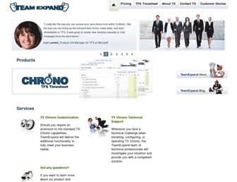 teamexpand.com screenshot