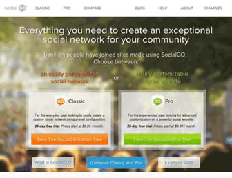 Thumbshot of Socialgo.com