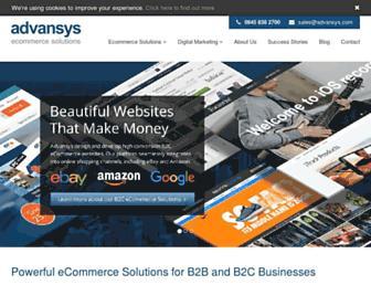 Thumbshot of Advansys.com