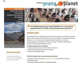 pranaplanet.com screenshot