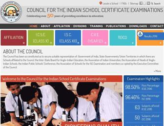 cisce.org screenshot