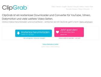 clipgrab.de screenshot