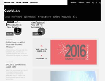 cablelabs.com screenshot
