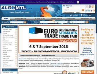 en.algomtl.com screenshot