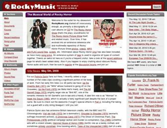 rockymusic.org screenshot