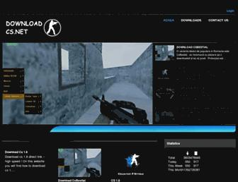 downloadcs.net screenshot