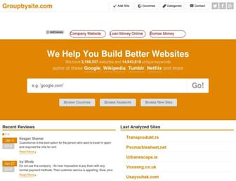 groupbysite.com screenshot