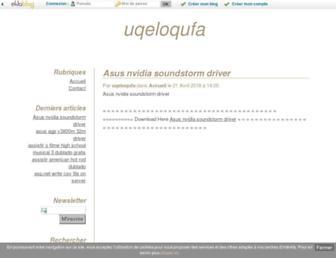 awekiru.eklablog.com screenshot