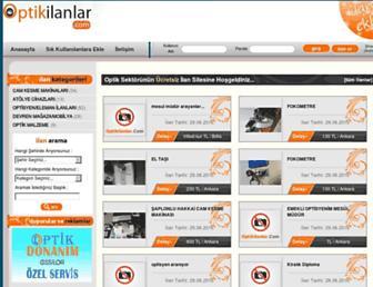 optikilanlar.com screenshot