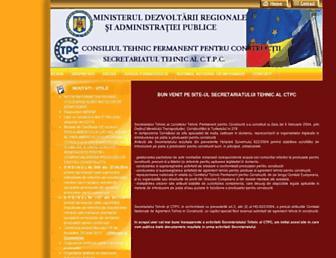 ctpc.ro screenshot