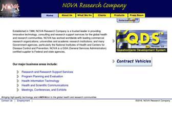 novaresearch.com screenshot