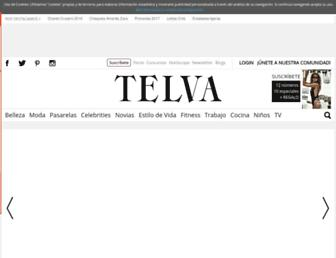 telva.com screenshot