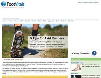 Thumbshot of Footvitals.com