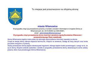 miasto.wilamowice.pl screenshot