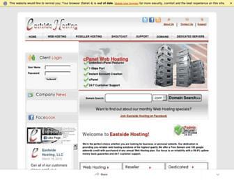 eastsidehosting.com screenshot