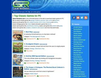 game-remakes.com screenshot