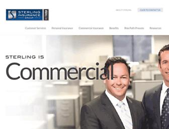 sterlingagency.com screenshot