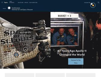 airandspace.si.edu screenshot