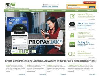 Thumbshot of Propay.com