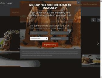 Thumbshot of Sullivanssteakhouse.com