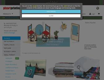 Thumbshot of Pixartprinting.co.uk