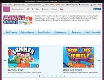 match3games.com screenshot