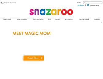 snazaroo.es screenshot