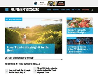 Thumbshot of Runnersworld.com