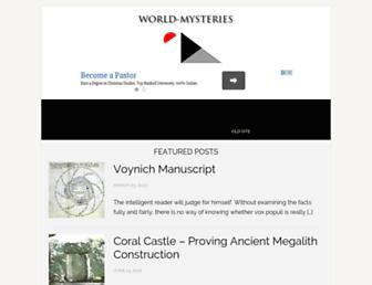 Thumbshot of World-mysteries.com
