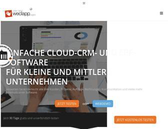 weclapp.com screenshot