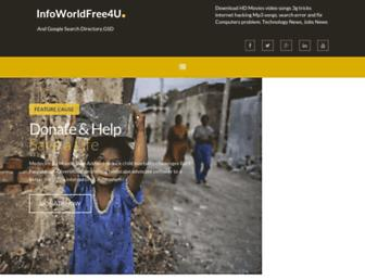 infoworldfree4u.blogspot.com screenshot