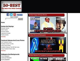50-best.com screenshot