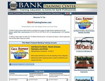 banktrainingcenter.com screenshot