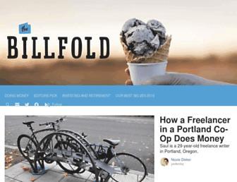 thebillfold.com screenshot