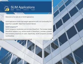 slimapplications.com screenshot