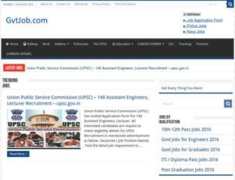 gvtjob.com screenshot