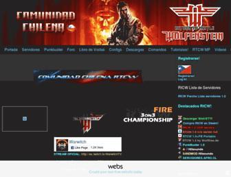 rtcwchile.webs.com screenshot