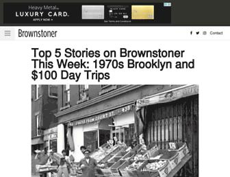 Thumbshot of Brownstoner.com